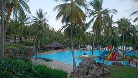 Serene beach. One of mombasa& x27;s beautiful beaches Royalty Free Stock Photo