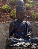 Serene Bronze Statue photo stock