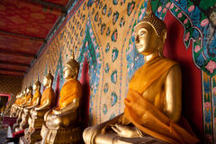 Serene Buddha statue Stock Photo