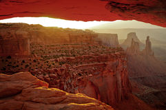 Serene canyonland Royalty Free Stock Image