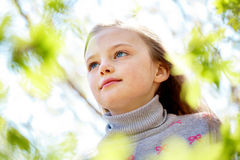 Serene child Stock Images