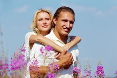Serene couple Royalty Free Stock Photo