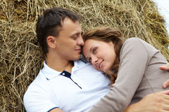 Serene couple Stock Photos