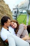Serene couple Stock Photography