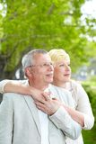 Serene couple Royalty Free Stock Photos