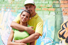 Serene couple Stock Image