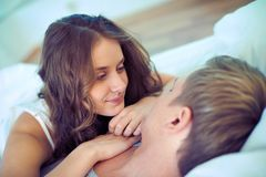 Serene couple Royalty Free Stock Images