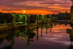 Serene Dock 2 Stock Photography