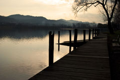 Serene Evening At Lake Royalty Free Stock Photo