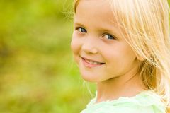Serene girl Royalty Free Stock Images