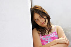 Serene girl Royalty Free Stock Image
