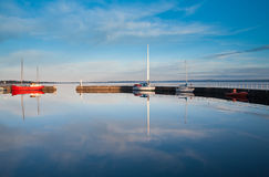 Serene Harbour Royalty Free Stock Photography