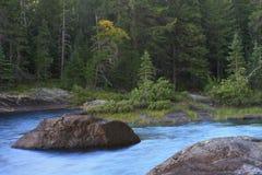 Serene lake Stock Images