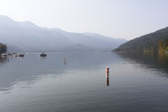 Serene Lake Stock Photo