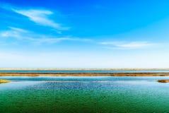 Serene lake background Royalty Free Stock Photo