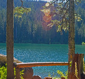 Serene Lake. Oregon in the early morning Royalty Free Stock Photos