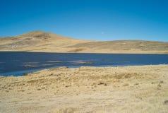 Serene Landscape no vale de Colca, Peru imagem de stock royalty free