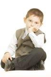 Serene little boy Royalty Free Stock Photo