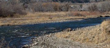 Serene Montana River Fotografia Stock