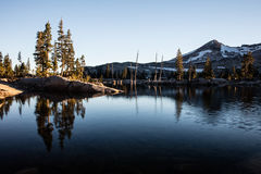 Serene Mountain Lake in Desolation Wilderness Stock Photos