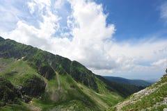 Serene mountain landscape (Romanian Carpathians) Stock Image