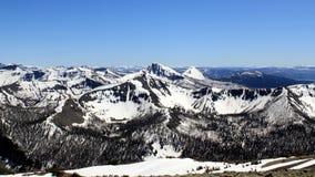 Serene Mountain Range Royaltyfri Fotografi