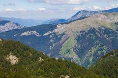 Serene mountains in Balkans Stock Photo