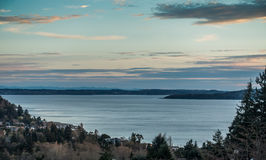 Serene Puget Sound Fotos de Stock