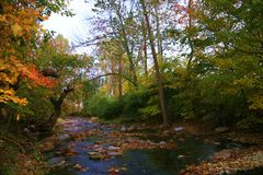 Serene scene. Western Maryland serene landscape on a lovely day Stock Images