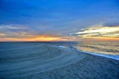 Serene and Scenic Summer Seashore Sunrise Royalty Free Stock Photo