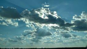 Serene sky. Heavens gate calm Stock Image