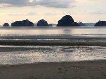 Serene Thai Beach Arkivbilder