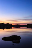 Serene view of calm lake Royalty Free Stock Photography