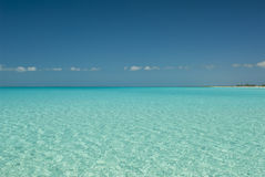 Serene Waters of Cat Island Bahamas Royalty Free Stock Photography
