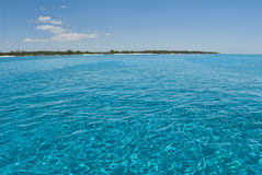 Serene Waters of Cat Island Bahamas Stock Photos