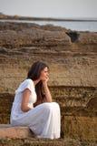 Serene woman Stock Image