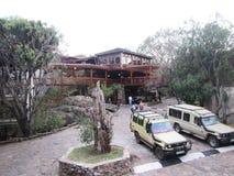 Serengeti lodge Royalty Free Stock Photography