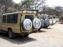 Serengeti parking Stock Photography