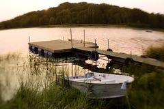 Serenidad crepuscular Imagen de archivo libre de regalías