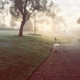 Serenidad de la mañana foto de archivo