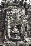 Serenidad de las caras Bayon, Angkor, Camboya. Sitio del patrimonio mundial de la UNESCO. fotos de archivo
