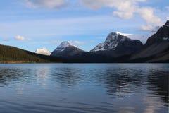 Serenidad del lago bow Imágenes de archivo libres de regalías
