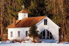 Serenidad en nieve Imagen de archivo libre de regalías