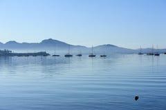 Serenidade azul Imagens de Stock Royalty Free