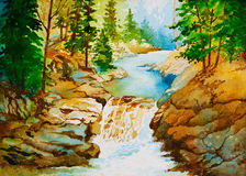 Serenidade da natureza Imagem de Stock Royalty Free