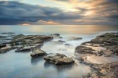 Serenidade na onda sul da onda Foto de Stock Royalty Free