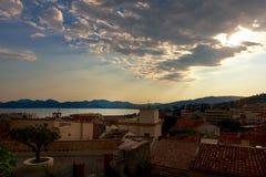 Serenità di Cannes Immagine Stock