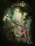 Serenità dolce, 3d CG Immagini Stock Libere da Diritti