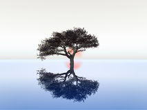 Sereniteit vector illustratie