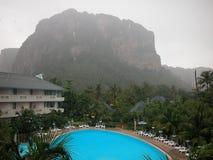 Sereniteit in een afgezonderd hotel in Krabi Stock Foto's